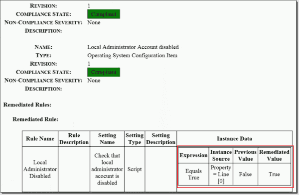 Local administrator account remediation