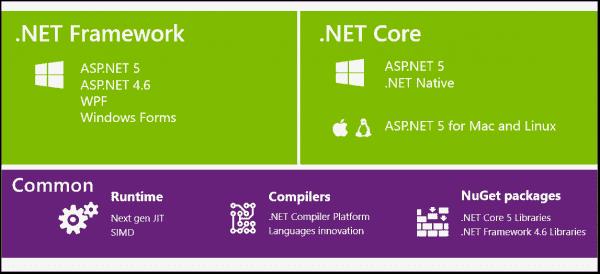 NET Core is a subset of the .NET Framework