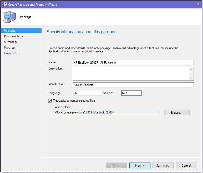 Pushing HP BIOS settings and updates with SCCM – 4sysops