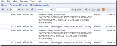 Windows Event Forwarding to a SQL database