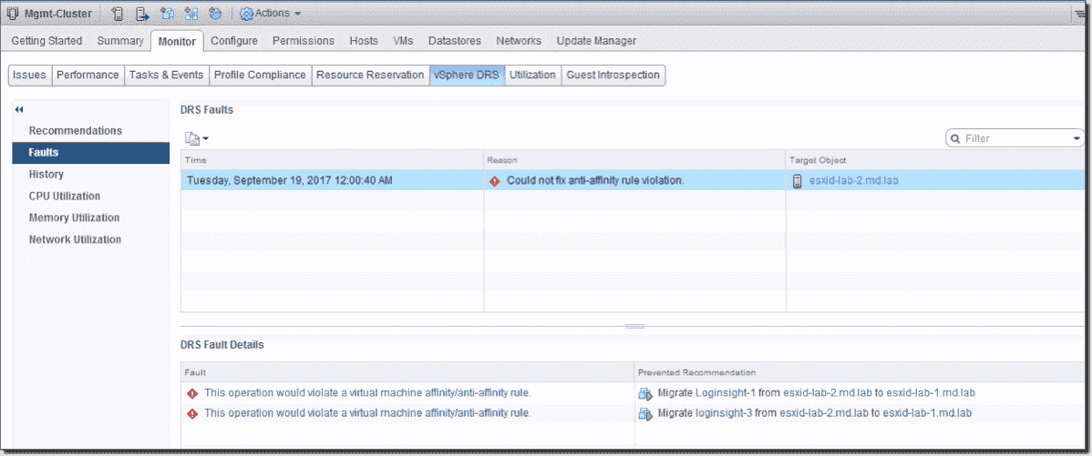 DRS affinity and anti-affinity rules in VMware vSphere – 4sysops