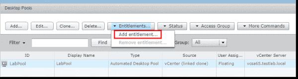 Add entitlement