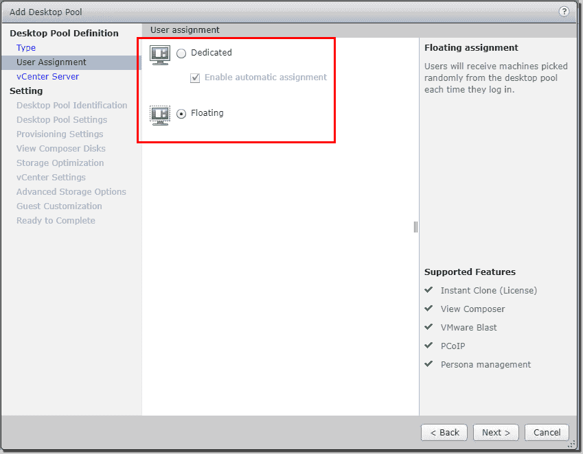 Creating VMware Horizon View desktop pools – 4sysops