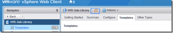 Content library synchronization