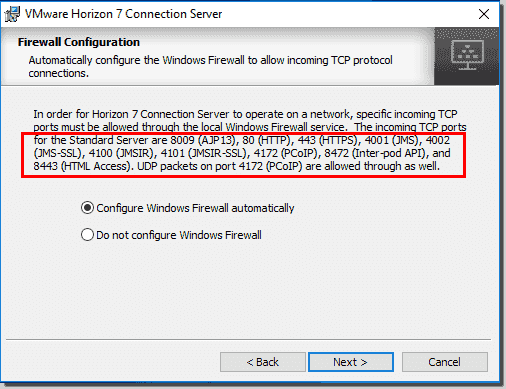 Install VMware Horizon View Connection Server – 4sysops