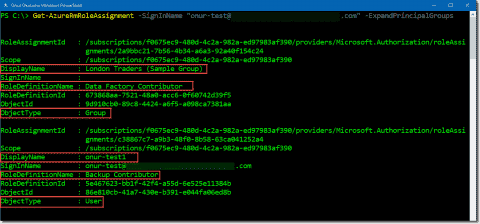 Manage Azure role-based access control with PowerShell