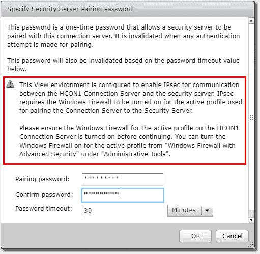 Make sure you configure the firewall to enable IPsec
