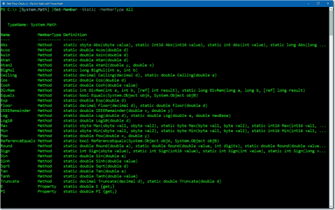 Do the math with PowerShell