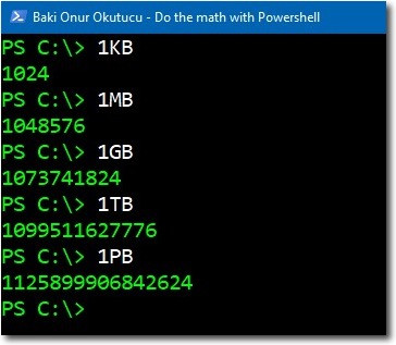 Do the math with PowerShell – 4sysops