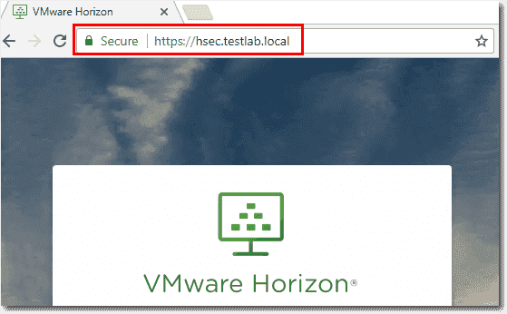 Verify after installing the certificate there are no certificate warnings