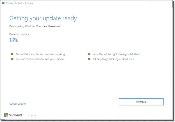 how to use windows 10 update assistant
