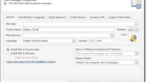 EMCO MSI Package Builder 7 - Now with App-V support