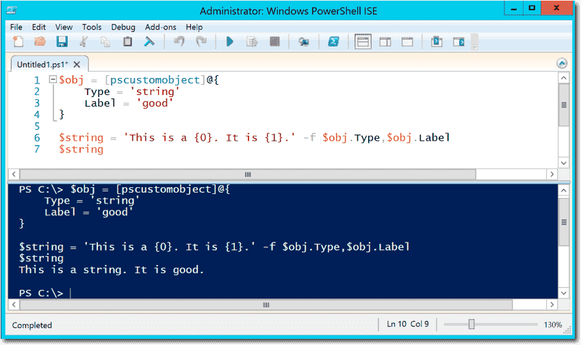 Strings in PowerShell: Quotes, formatting, and concatenation