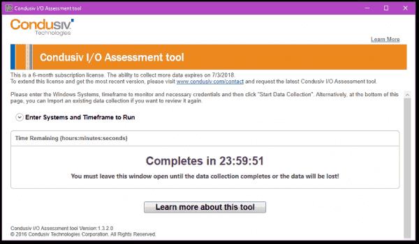 Running an assessment