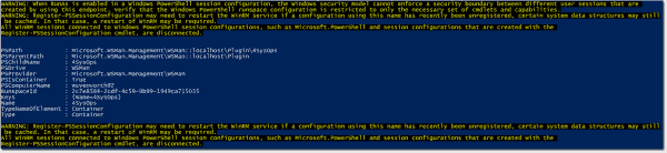 Solving the PowerShell double hop problem with session configurations
