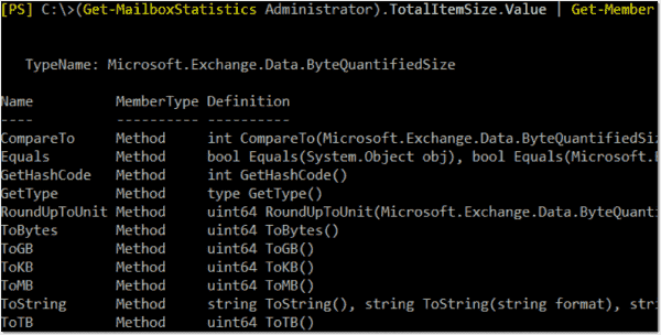 Sort Exchange and Office 365 mailboxes by size with PowerShell