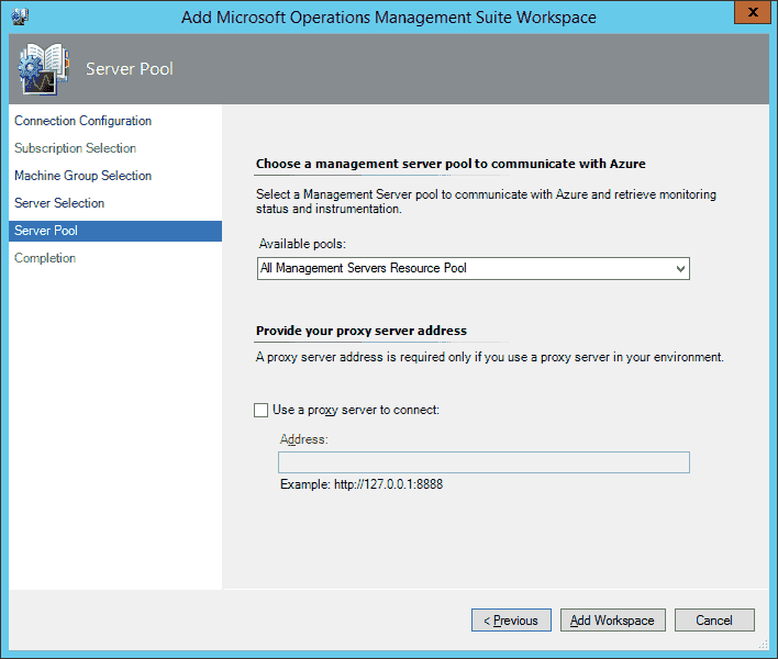 Configuring OMS Service Map in SCOM