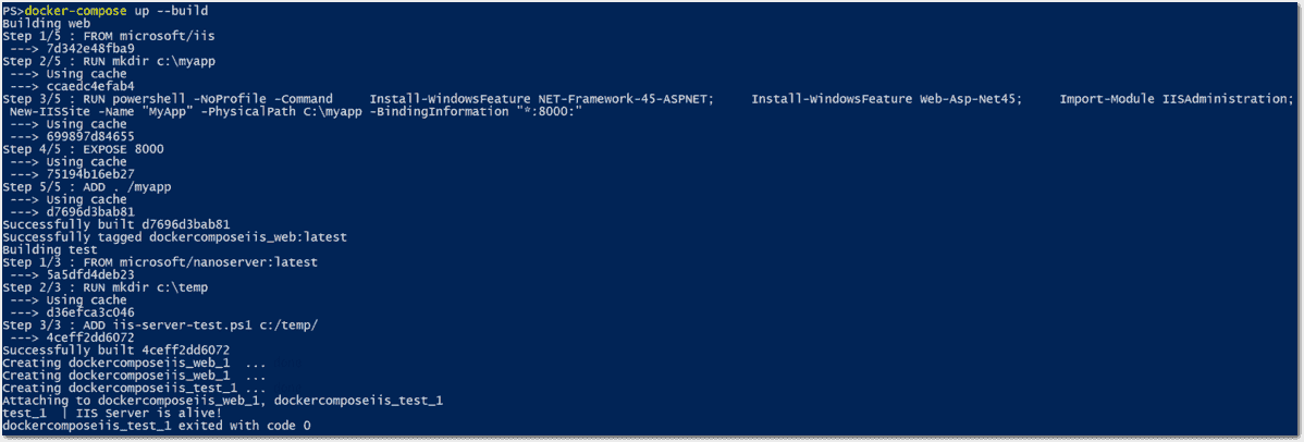 Using Docker Compose on Windows – 4sysops