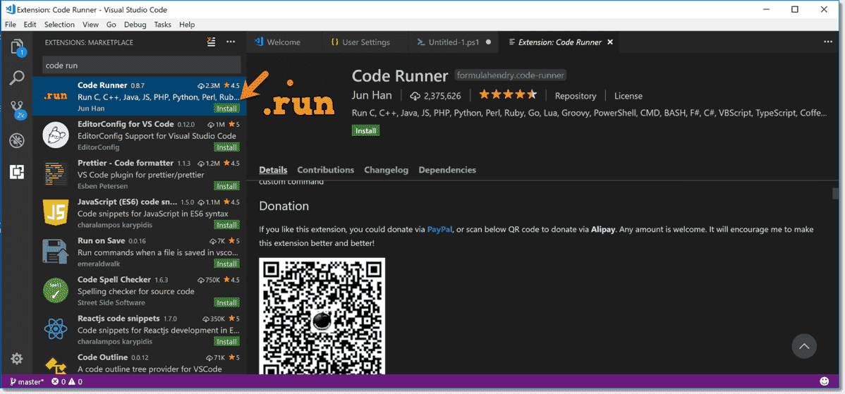Code on the Run: Details