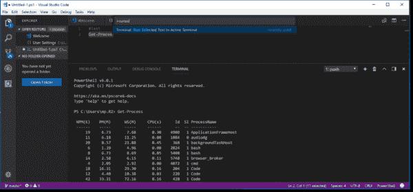 Run selected code in VSCode