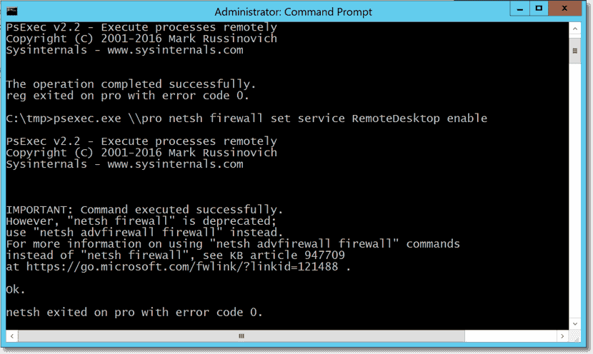 Enable Remote Desktop remotely on Windows 10 – 4sysops