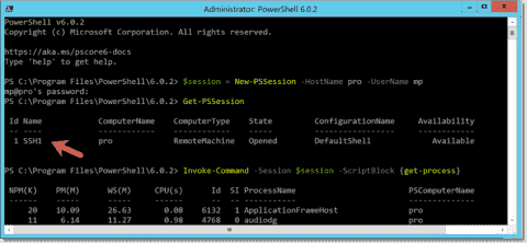 Enable PowerShell Core 6 remoting with SSH transport