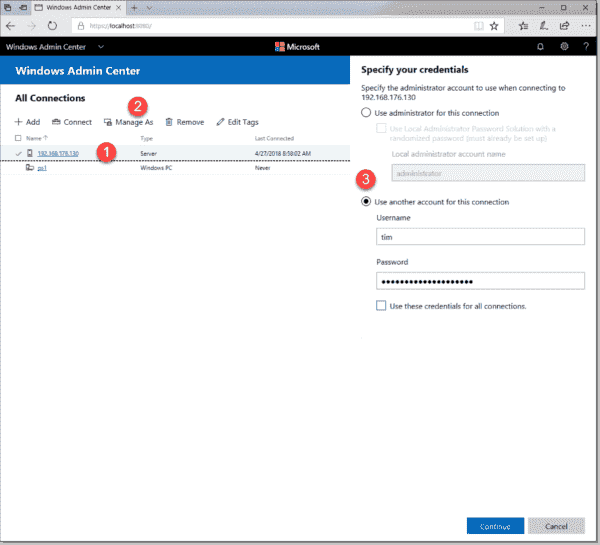 Manage Windows Server 2019 with Admin Center, PowerShell Core, and