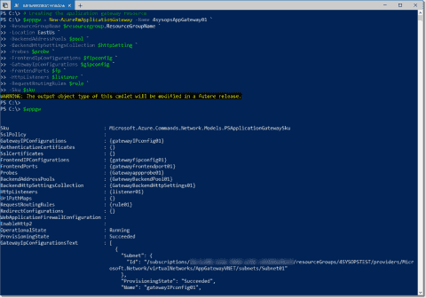 Creating and configuring Web Apps behind an Azure Application Gateway using PowerShell