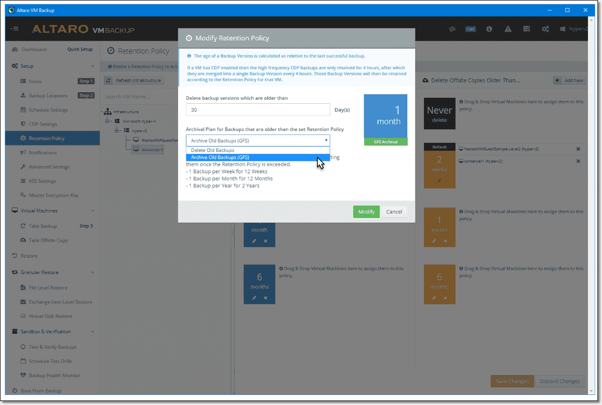 New in Altaro VM Backup v7.6