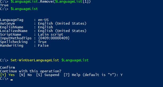 Adding and removing keyboard languages with PowerShell – 4sysops