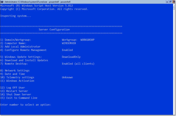 activate windows server from command line