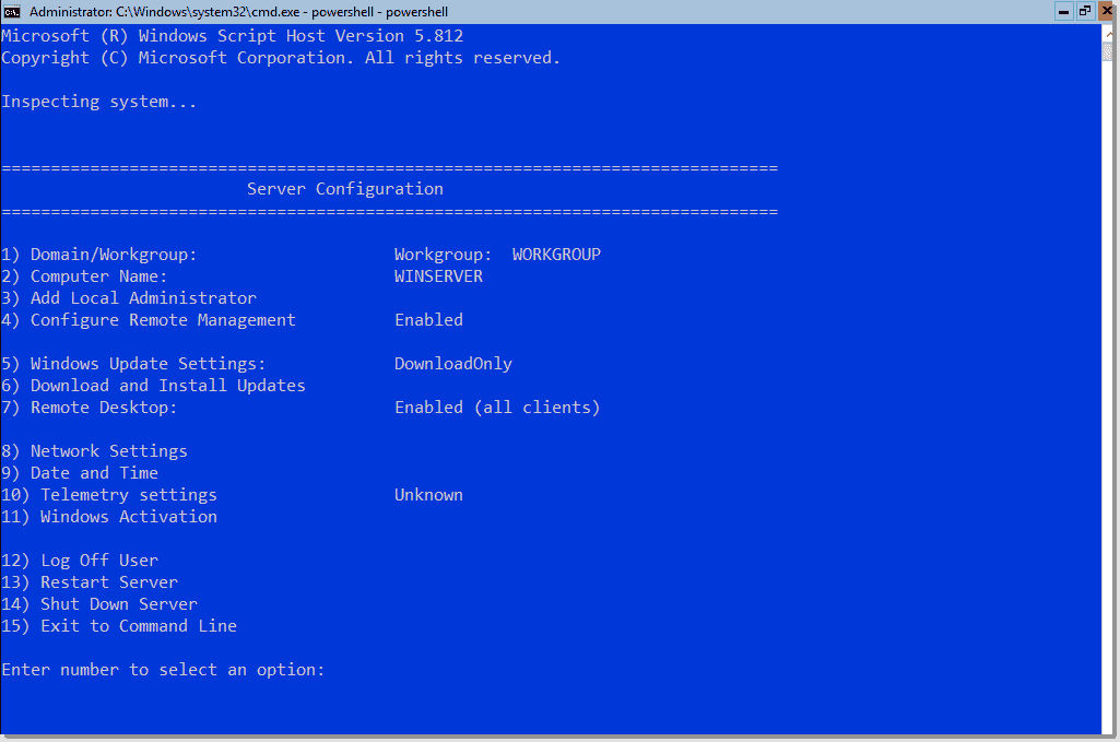 Manage Windows Server 2019 with Admin Center, PowerShell