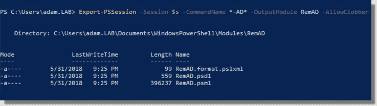 Using PowerShell implicit remoting