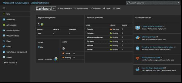 MAS Administrator Portal (Image Credit Microsoft)