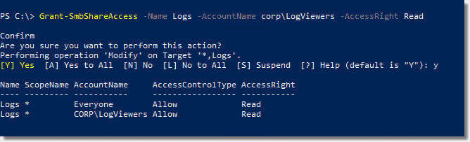 Managing Windows file shares with PowerShell – 4sysops
