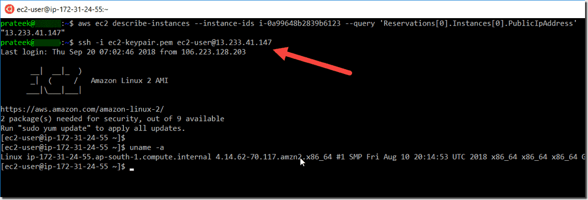Running the AWS CLI and Python on Windows 10 in a Linux Bash