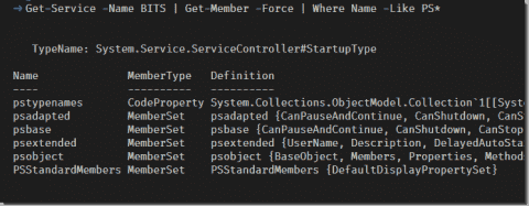Displaying PowerShell members with my Format-Member function