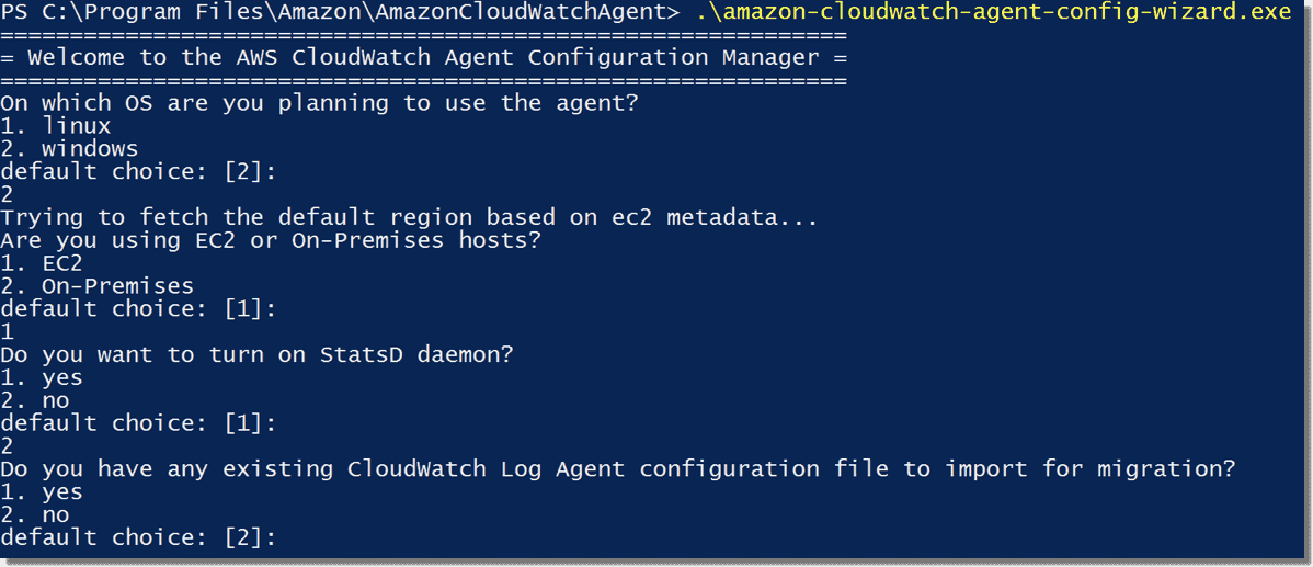 Install the AWS CloudWatch agent on Windows – 4sysops