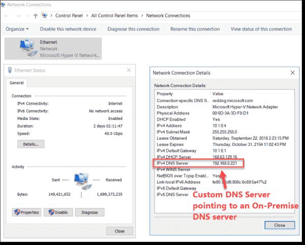 Custom DNS configuration