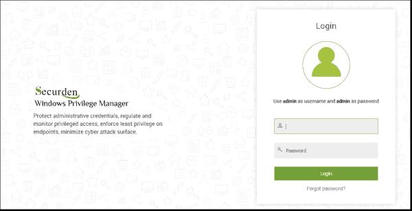 Default website after install