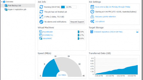 Nakivo Backup 8.0 for VMware, Hyper-V, and Amazon
