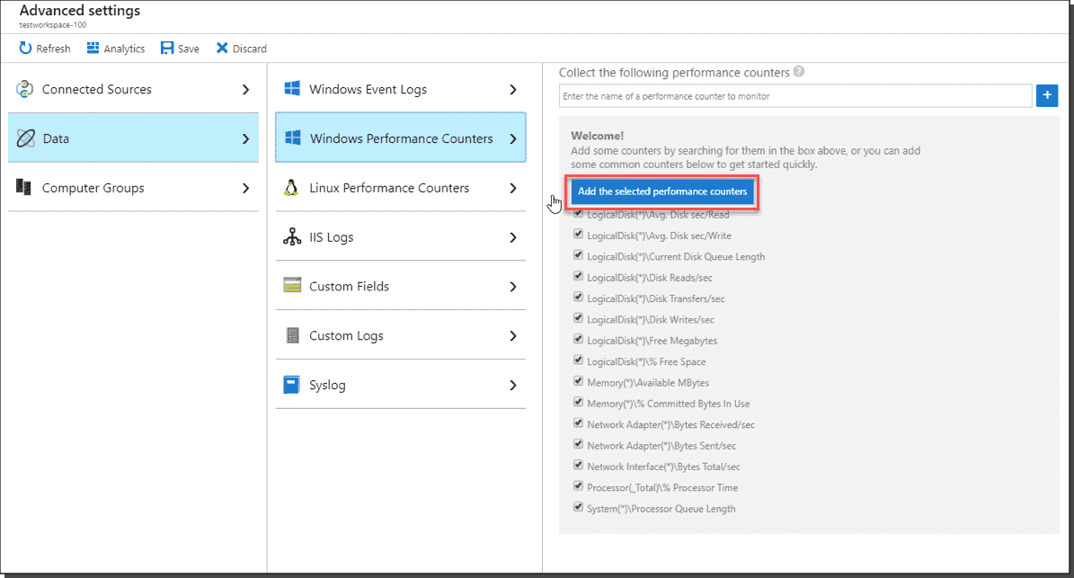 Azure Monitor: Setup and on-premises configuration