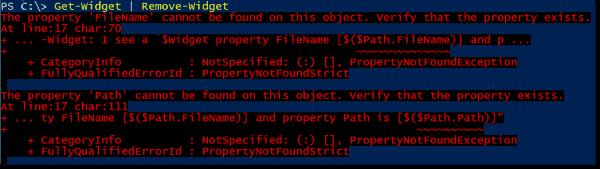 Unknown parameter binding behavior