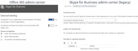 Configuring Office 365 Microsoft Teams and Skype for Business federation