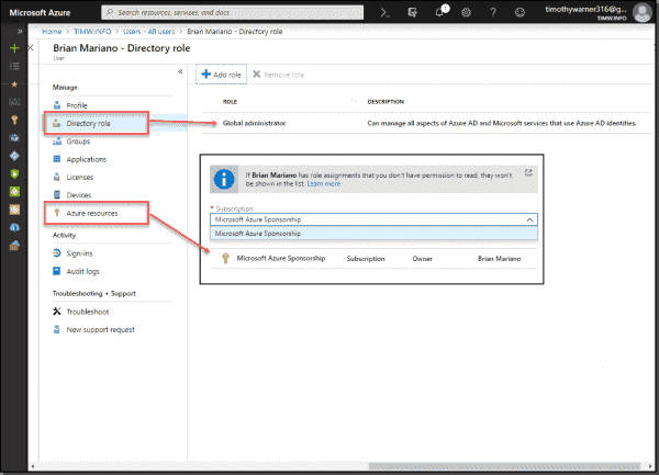 Creating an emergency admin account in Azure AD