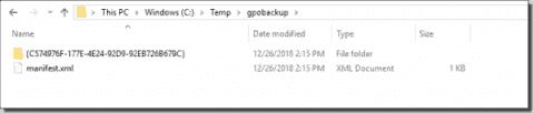 Group Policy backup with a PowerShell script