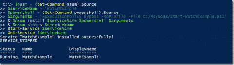 Monitor file changes in Windows with PowerShell and pswatch