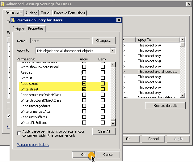 Display a user's logged-on computer in Active Directory Users and