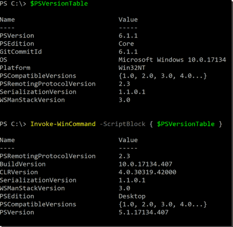 The WindowsCompatibility module: Using Windows PowerShell modules in PowerShell Core