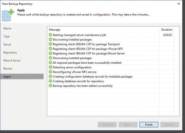 Add a repository Complete